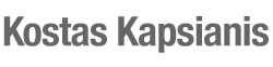 Kostas Kapsianis Retina Logo